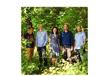 5 colleagues of Laubwerk's Team