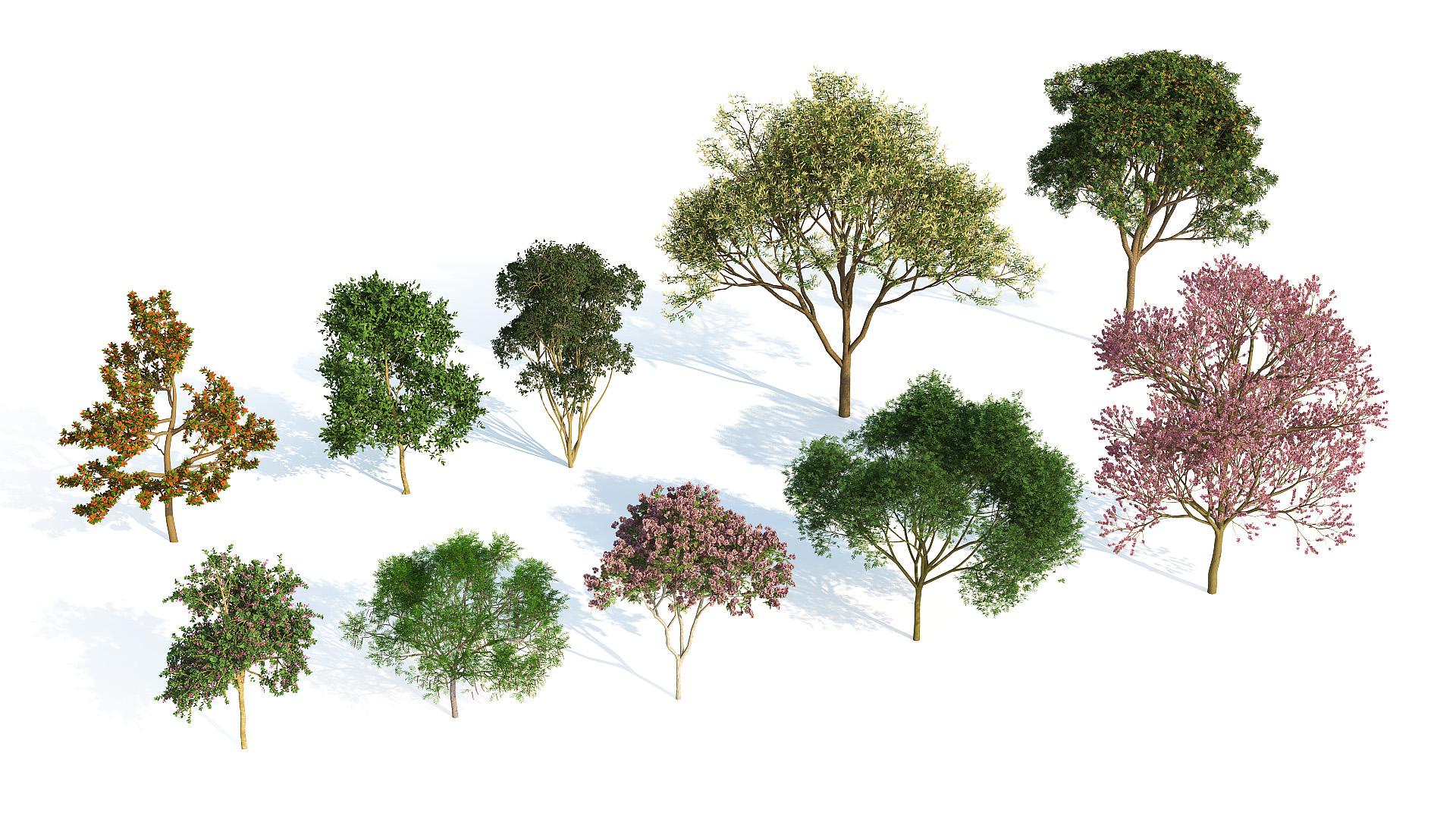 Laubwerk - Plants Kit 3 for 3ds Max, Maya, Cinema 4D