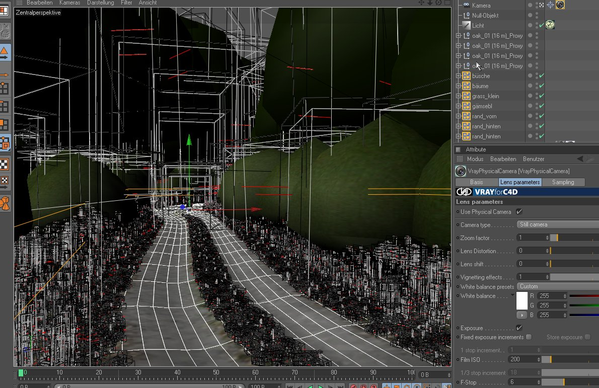 4D Max Cinema laubwerk - surfacespread and plants kits updates