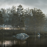 The New Laketure (CG artwork by Ronen Bekerman using 3ds Max, Laubwerk Plants Kit 5 and V-Ray)